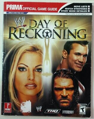 WWE: DAY OF Reckoning Nintendo GameCube 2004 Complete