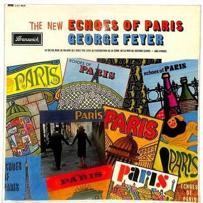 George Feyer - The New Echoes Of Paris - LP Vinyl Record