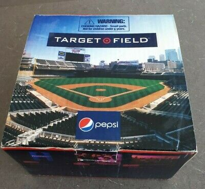 2010 New Mini Target Field Stadium Give Away Collection In Box Minnesota Twins