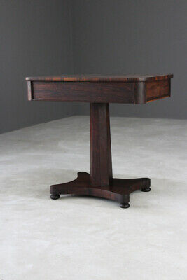 Antique Rosewood Side Centre Occasional Table