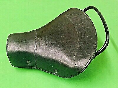 Vespa Classic Original Donza Continentale Black Single Saddle Seat