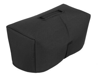 """Crate V-30H Amp Head Cover - 1/2"""" Padded, Black, Made in USA by Tuki (crat045p)"""