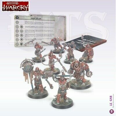 Bits Warcry Iron Golem Warhammer Age Of Sigmar