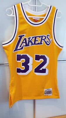 Camiseta NBA Mitchell & Ness, Lakers, Johnson, talla S