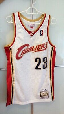 Camiseta NBA Mitchell & Ness, Cleveland, James, talla S