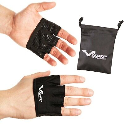 ViperSportsWear Crossfit Gloves Fingerless Hand Grips - Gym, Weight Lifting, ...