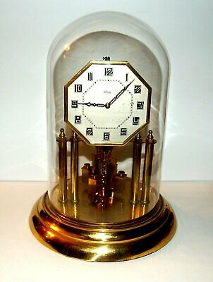Very Large Kundo Four Pillar 400 Day Anniversary Deco Clock Octagon Dial Running