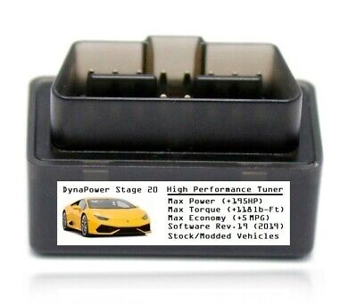 Stage 20 Tuner Chip Power Performance [ Add 195 HP/5 MPG ] For Dodge