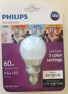 Philips Led 464867 60 Watt Equivalent Sceneswitch Daylight