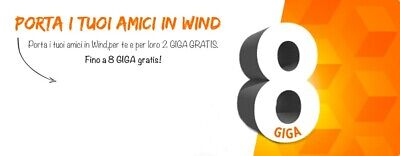 Passa A Wind 2 Gb/Mese In Regalo Per Sempre