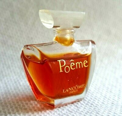 Vtg Poeme Lancome 4ml 014 Oz Eau De Parfum Mini 65