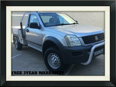2006 Holden Rodeo RA MY06 LX Cab Chassis Single Cab 2dr Auto 4sp 4x2 3.6i A