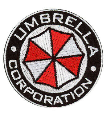 Round Security Service Resident Evil USS Umbrella Corporation Costume Patch