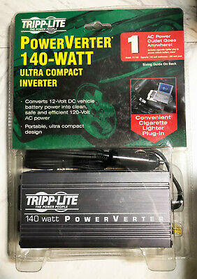 Ultra-Compact Inverter PV140 TrippLite 140-Watt 140W PowerVerter,115V AC Outlet