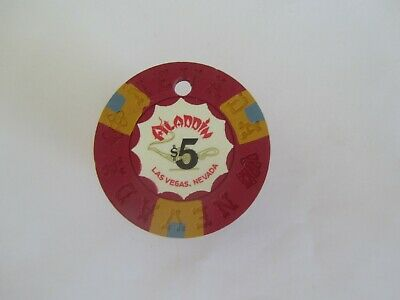 Aladdin Casino, Las Vegas, Nv - Obsolete Casino Chip