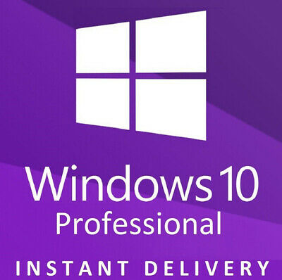 Instant Windows 10 Pro 32 / 64 Bit Win 10 License Original Activation Key Esd