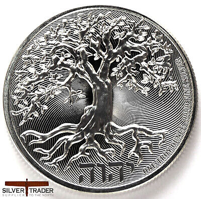 2019 Tree of Life 1 ounce Silver Bullion Coin unc: