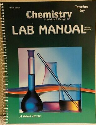 ABEKA CHEMISTRY W  Lab and key, 2nd Ed, LN, Science, School