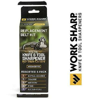 Official Replacement Belt Kit for the Work Sharp Knife and Medium, various