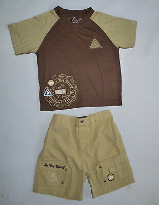 Vintage le coq sportif 90's Boys Shorts and Top 6-7 Years EUC