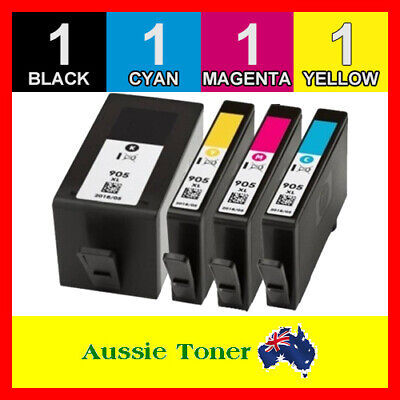 4x Ink Cartridges Compatible for HP 905 XL Officejet Pro 6950 6956 6960 6970