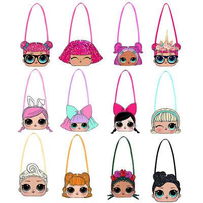 lol surprise dolls game Cartoon Kids Money Pouch Bags Purses Messenger Bag gifts