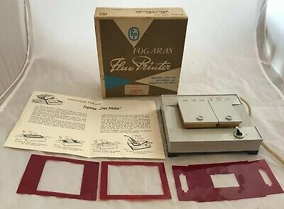 Super Rare Vintage Fogaras Fluo Contact Printer, Prints of Photography Negatives