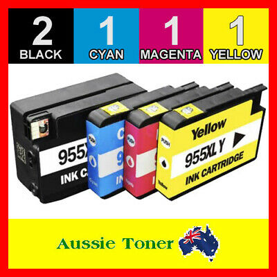 5x Ink Cartridges Compatible for HP 955 XL Officejet Pro 7740 8210 8710 8720