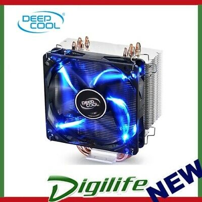 Deepcool Gammaxx 400 CPU Cooler (2011/1366/115X/775, FM2/1. AM3/2+), 4 Heatpipes