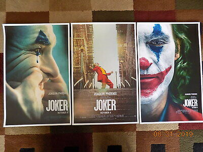 "Joker ( 11"" X 17"" ) Movie Collector's Poster Prints ( Set of 3 )"