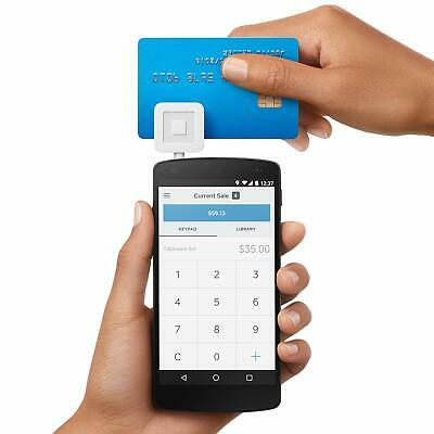 Credit Card Reader Square Swiper for iPhone Smartphone Tablet iOS Android F/S