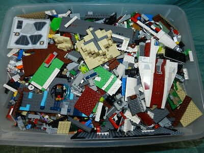 2 lbs Pounds Lego Parts Pieces from HUGE BULK LOT Star Wars Harry Potter More