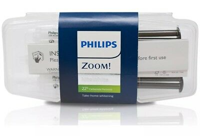 "Philips Zoom Teeth whitening gel 22%, 3x Syringes Pack ""✅ Expiry 2/21"
