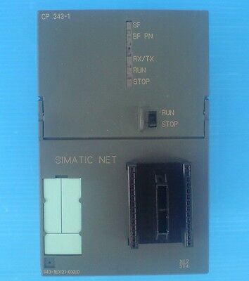 Siemens Simatic S7 6Gk7 343-1Ex21-0Xe0 Cp343-1 Communications Processor