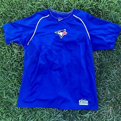 Nike Pro Combat NWT Toronto Blue Jays Baseball Fitted Shirt Men/'s Sz 2XL /& 3XL