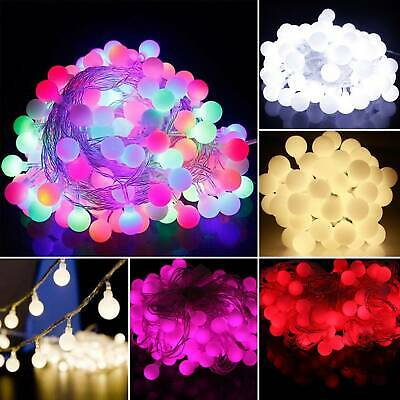 10M 100LED Battery Fairy String Lights Christmas Xmas Party Wedding Bulb Lamps