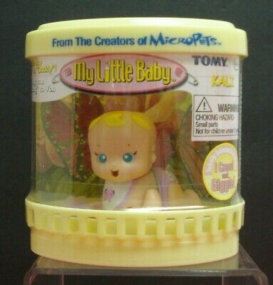 TOMY Interactive My Little Baby 2003 Kali Crawls Talks and Giggles #4240
