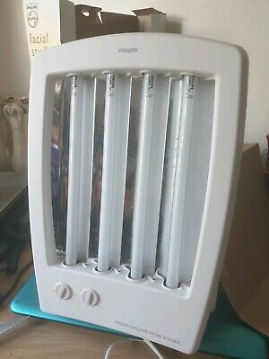 Philips Hb 175 Facial Studio Facial Tanning Machine Boxed Goggles Fwo