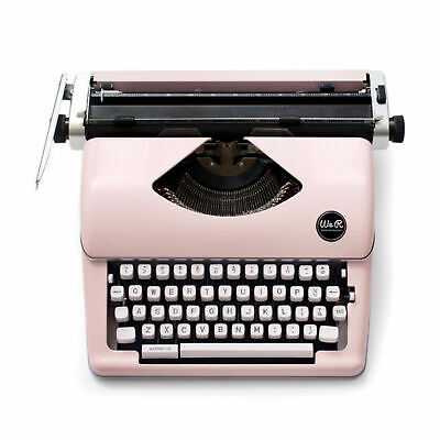 American Crafts We R Memory Keepers Typecast Typewriter - Two Color Ink - Pink