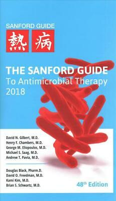 Sanford Guide to Antimicrobial Therapy 2018 (48th Edition Paperback)