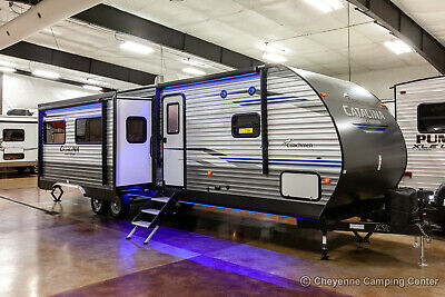 New 2020 Coachmen Catalina 313DBDS Bunkhouse Travel Trailer with Outdoor Kitchen
