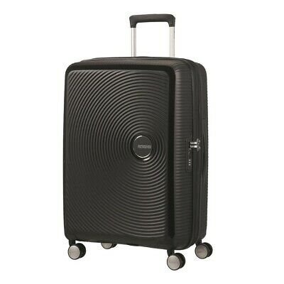 American Tourister Curio 69cm Expandable Spinner Black