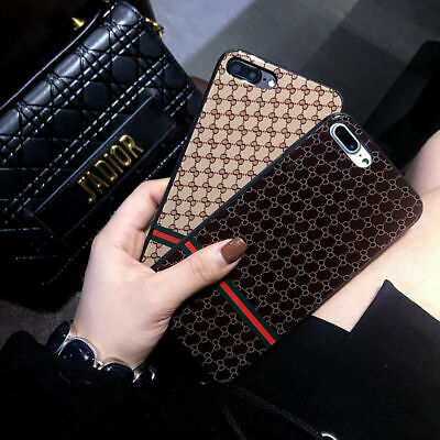 Luxury Case iPhone XS Max XR X 6S 7 8 Plus Cover Silicone Fashion Brand Designer