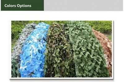 Camouflage Netting Filet NET  Trap Camping Sun Shield  Hunting Shelter jungle