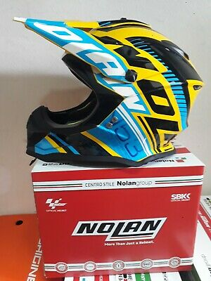 IS MISSING BOX FURTHER REDUCTION! BAG NOLAN N53 FLAXY CAB YELLOW ON SALE!!