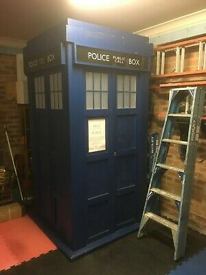 Dr Who Tardis Pulled Apart In Need of Minor Repairs All Parts Supplied
