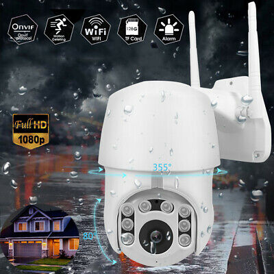 1080P HD IP66 CCTV Camera Waterproof Outdoor WiFi PTZ Security Wireless Onvif