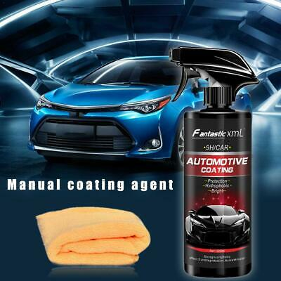 Shine Armor Ceramic Spray Car Polish Spray Top Coat Quick Nano-Coating 500ML