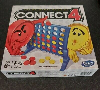 Connect 4 Original Game By Hasbro 2013 Complete With Instructions