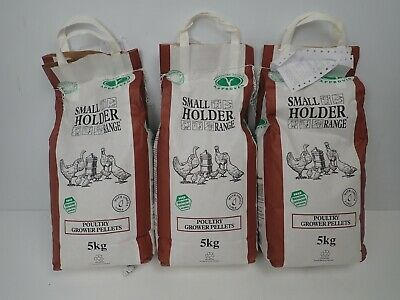 Allen & Page Poultry Growers Pellets - Laying Hens Chicken Food Feed - 3 X 5kg